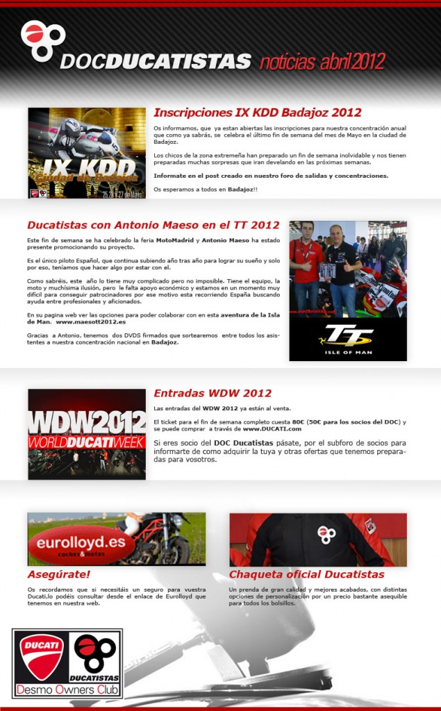newsletter-abril-ducatistas